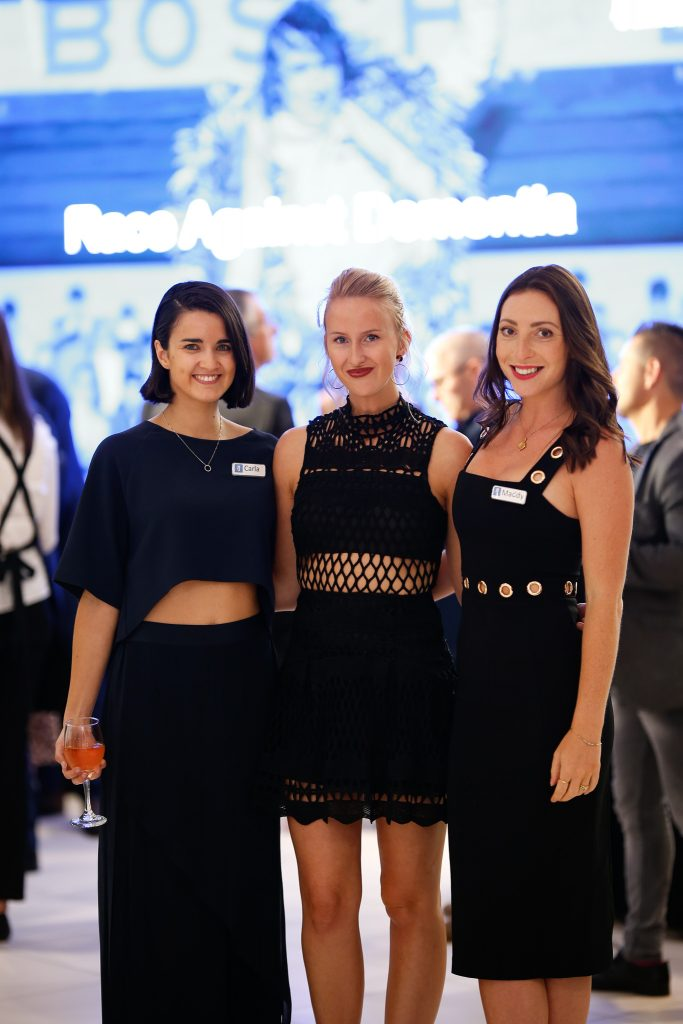 Carla Brugliera, Anya Gully and Madeleine Kemp, from DPR&Co